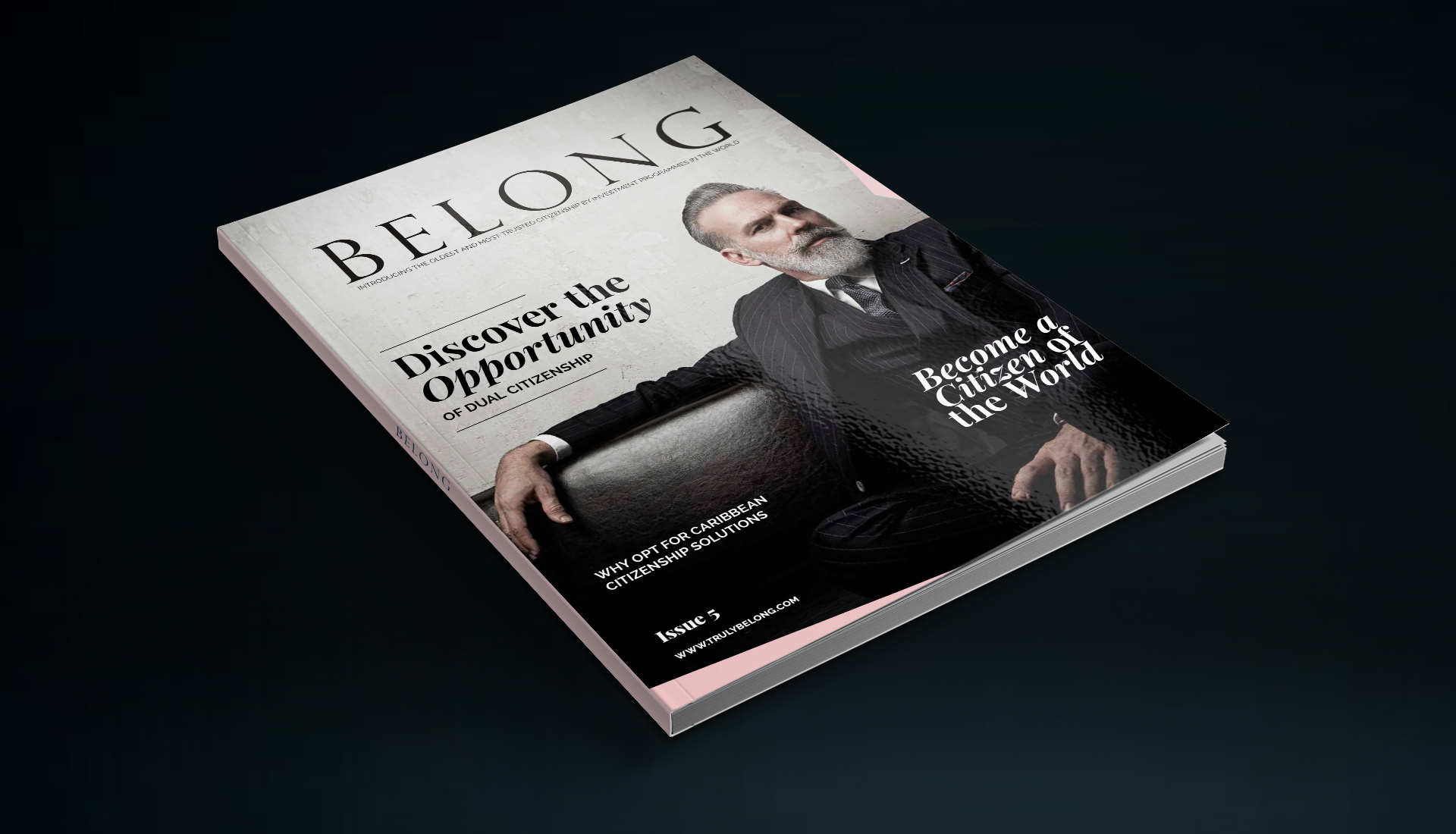 Belong Magazine and website